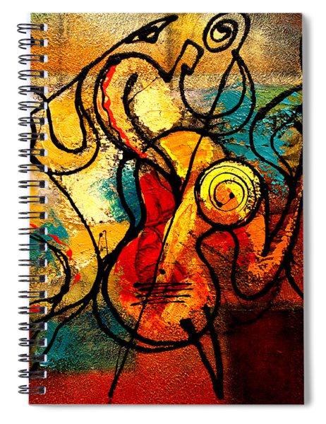 Ragtime Spiral Notebook