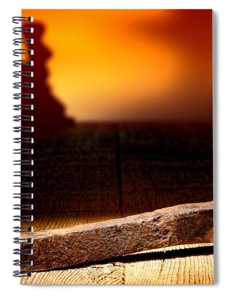 Railroad Spike Spiral Notebook