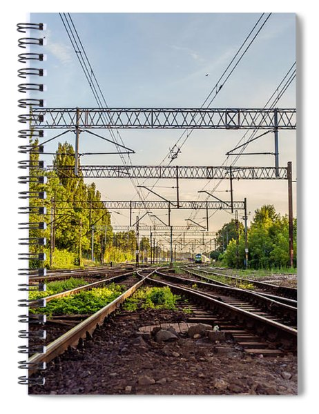 Railway To Nowhere Spiral Notebook