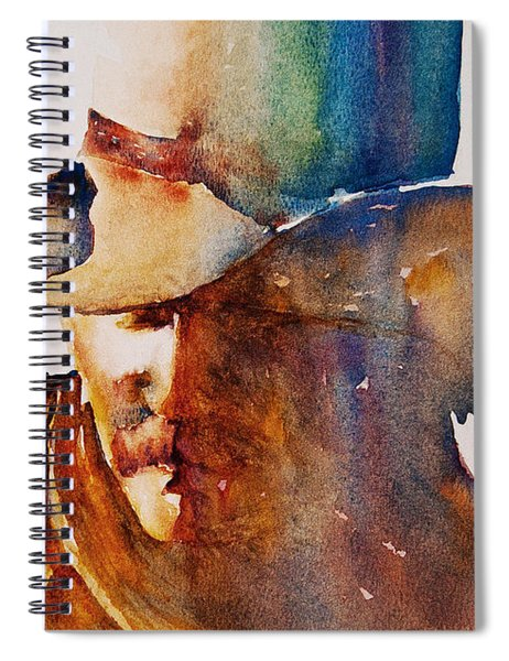 Rainbow Cowboy Spiral Notebook