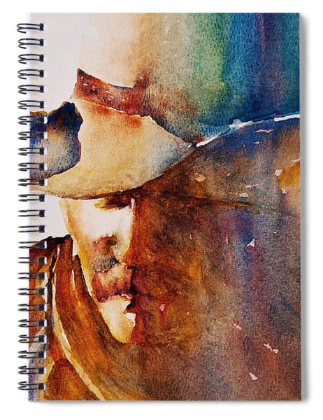 Rainbow Cowboy Spiral Notebook