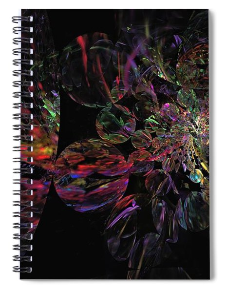 Rainbow Party Spiral Notebook