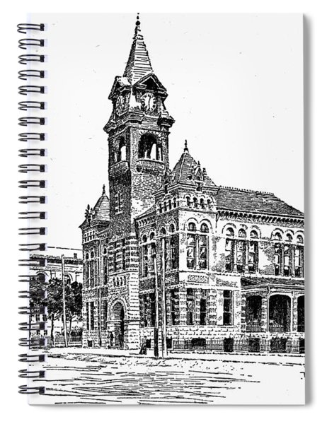 Raleigh Courthouse Spiral Notebook