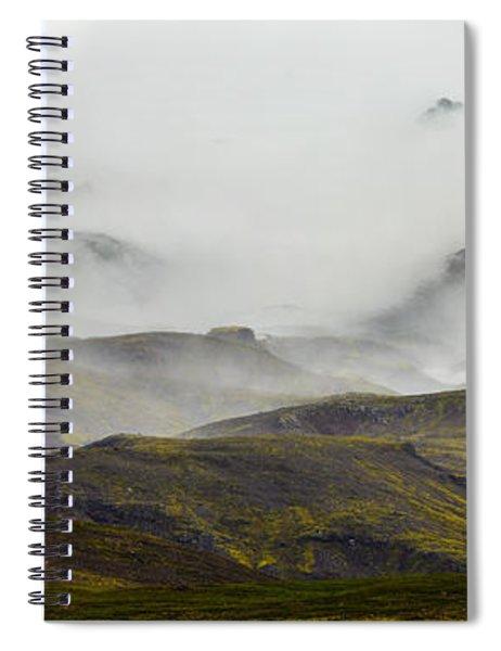 Ramble Thru The Mountains I Spiral Notebook