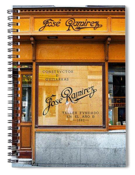Ramirez Guitars Workshop Spiral Notebook