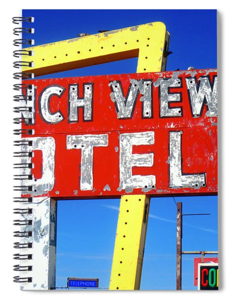 Ranch View Motel Spiral Notebook