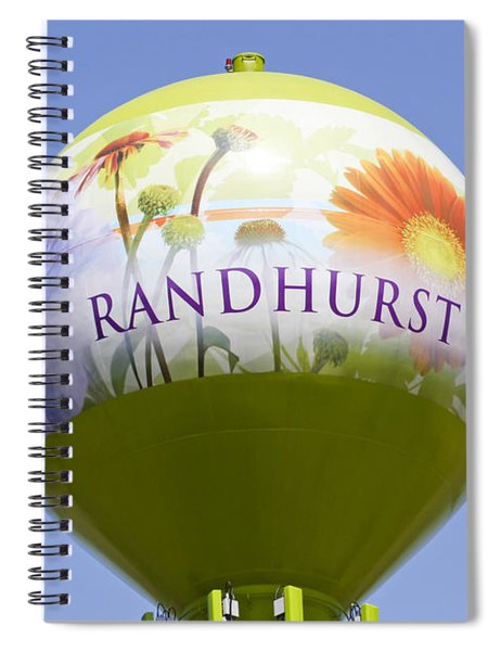 Randhurst Water Tower Spiral Notebook