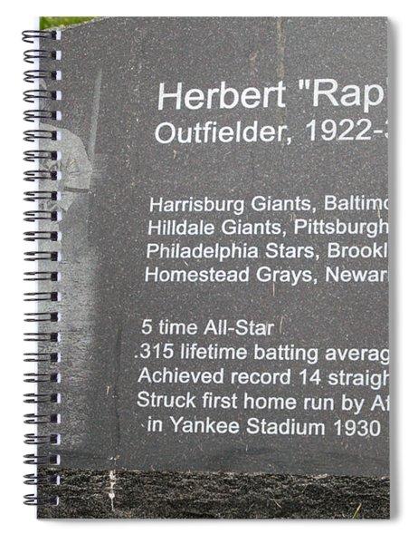 Rap Dixon Spiral Notebook