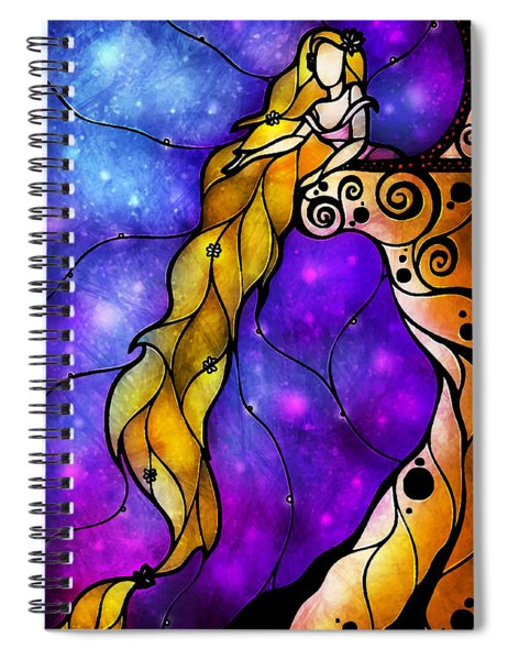 Rapunzel Spiral Notebook