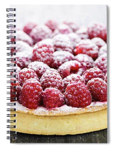 Raspberry Tart Spiral Notebook