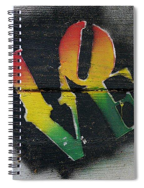 Rasta Love Spiral Notebook