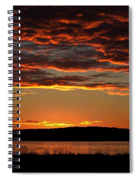 Rathtrevor Sunrise Spiral Notebook