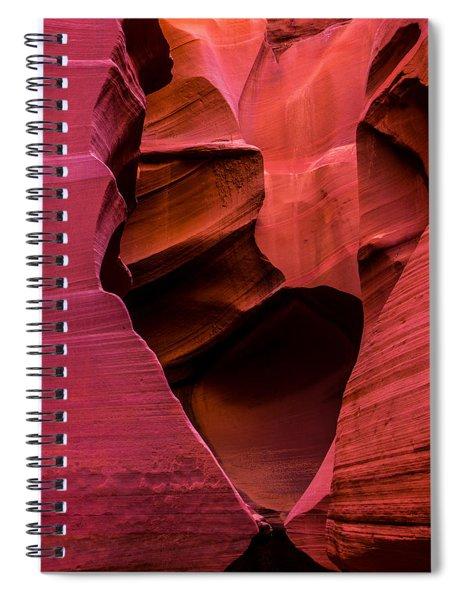 Rattlesnake Heart Spiral Notebook