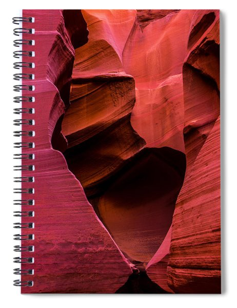 Rattlesnake Heart Spiral Notebook