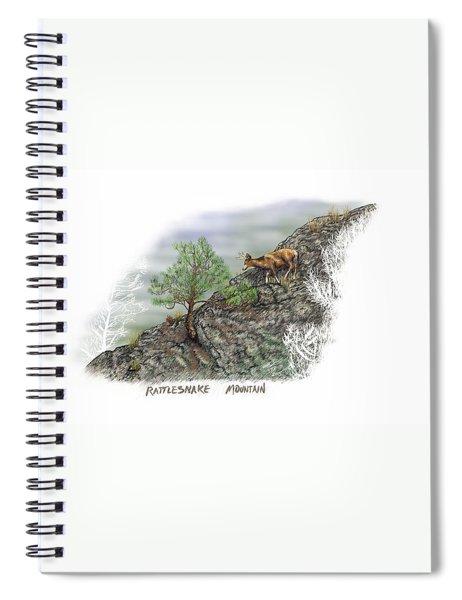 Rattlesnake Mountain Spiral Notebook