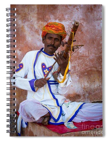 Ravanhatha Musician Spiral Notebook