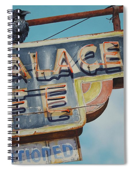 Raven And Palace Spiral Notebook