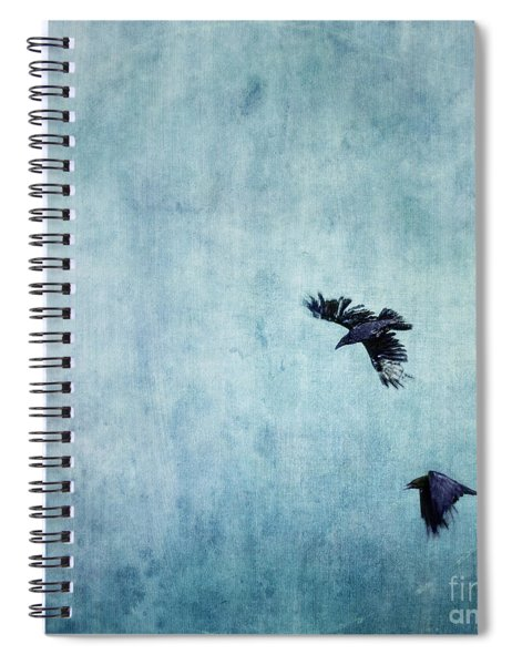 Ravens Flight Spiral Notebook