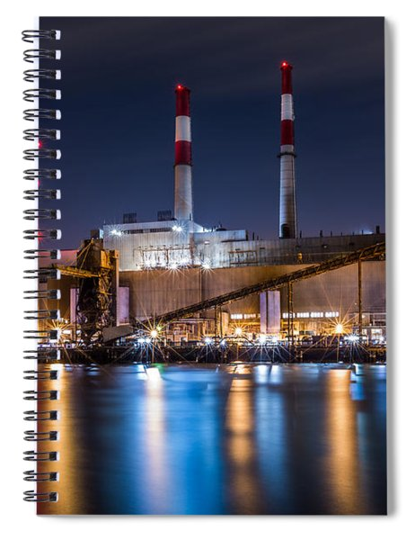 Ravenswood Generating Station Spiral Notebook