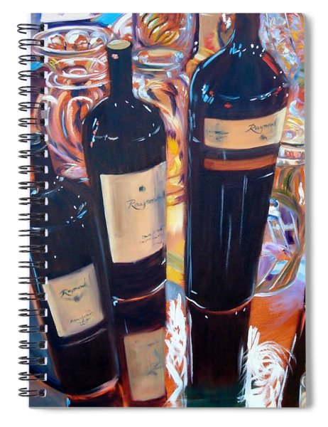 Raymond Vineyards Crystal Cellar Spiral Notebook