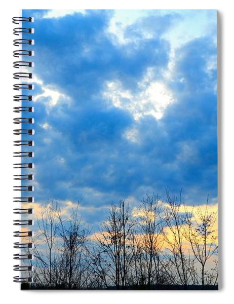 Reach Out And Touch The Sky Spiral Notebook