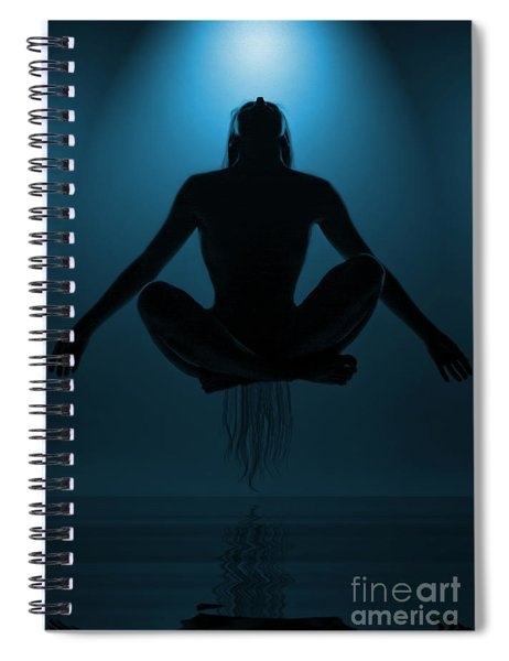 Reaching Nirvana.. Spiral Notebook