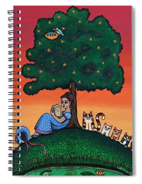 Reading Jane Spiral Notebook