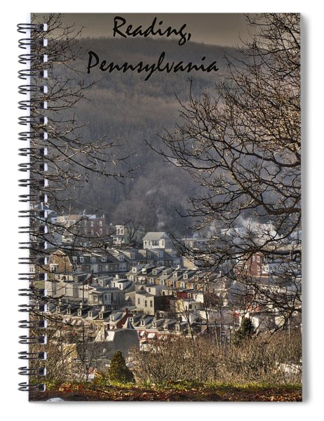 Reading Pennsylvania Spiral Notebook