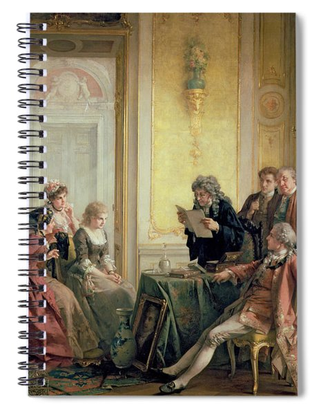 Reading The Will Spiral Notebook
