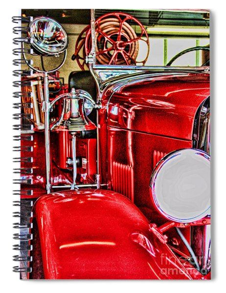 Ready For The Ring By Diana Sainz Spiral Notebook
