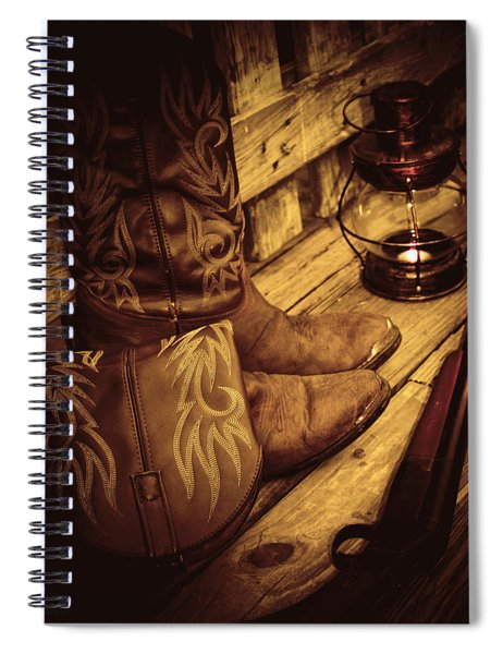 Ready To Hunt Too Spiral Notebook