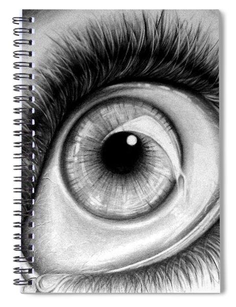 Realistic Eye Spiral Notebook