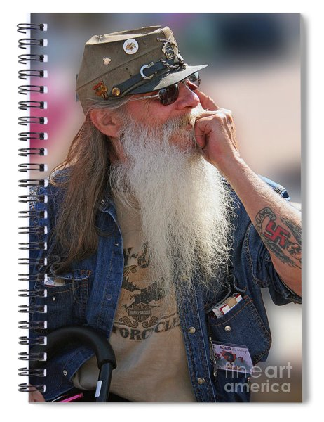 Rebel With A Cause Spiral Notebook