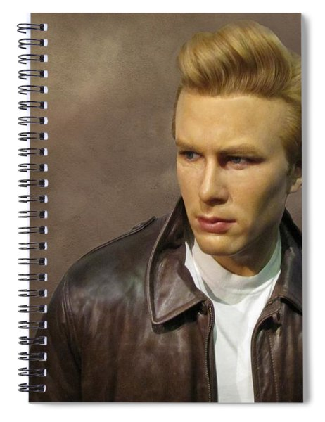 Rebel Without A Cause Spiral Notebook