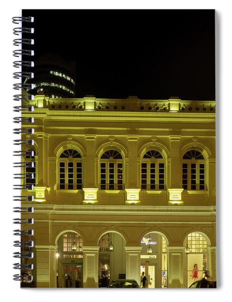 Recently Restored Buildings On Chatham Spiral Notebook