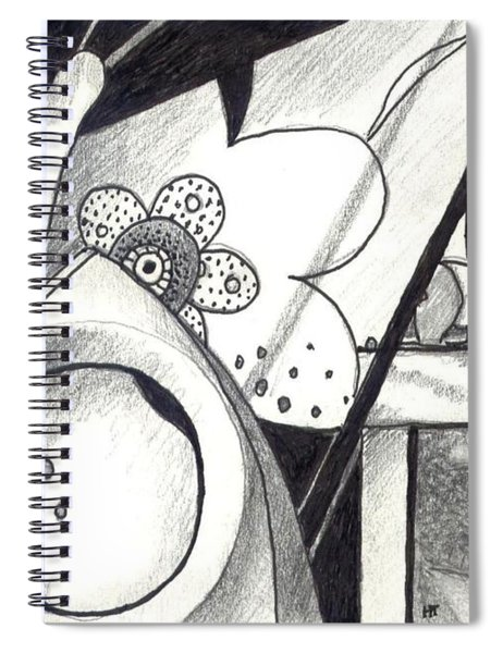 Receptors And Rabbit Ears And Long Pairs Of Antennas Spiral Notebook