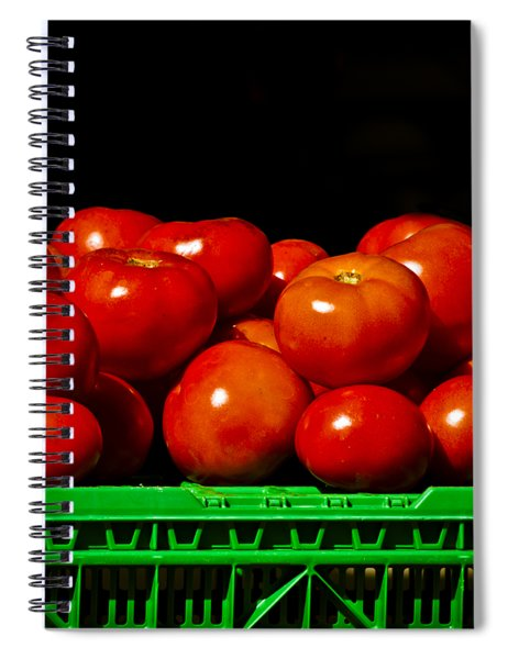 Red And Ripe Spiral Notebook
