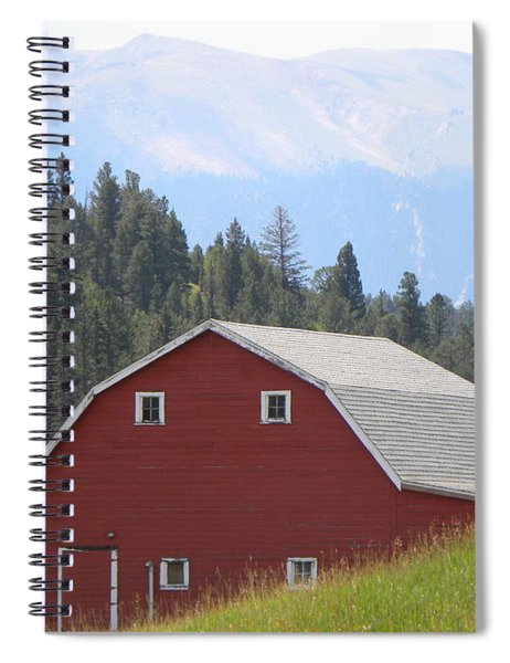 Barn - Pikes Peak Burgess Res Divide Co Spiral Notebook