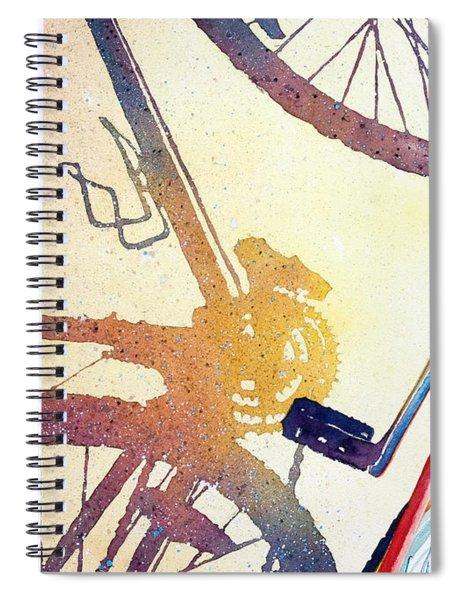 Red Bike Spiral Notebook