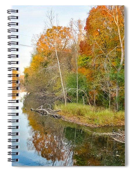 Red Cedar Fall Colors Spiral Notebook