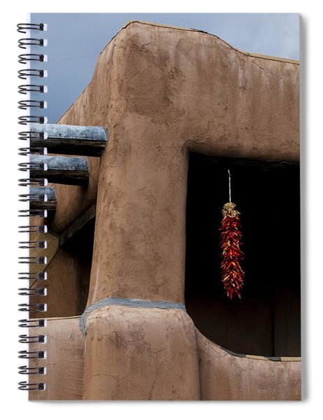Red Chile Ristras Santa Fe Spiral Notebook