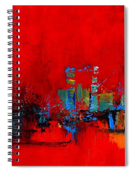 Red Inspiration Spiral Notebook