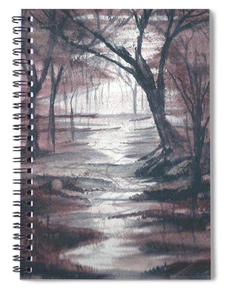 Red Mist  Spiral Notebook