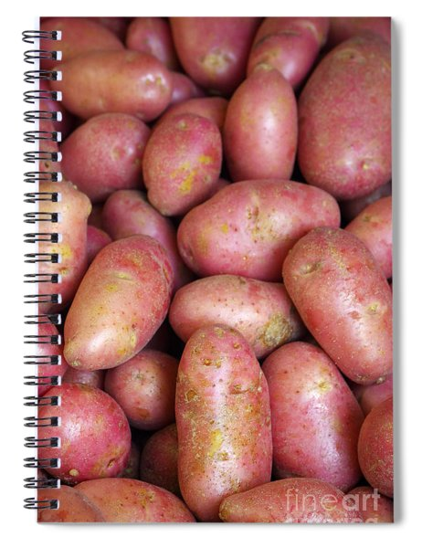 Red Potatoes Spiral Notebook