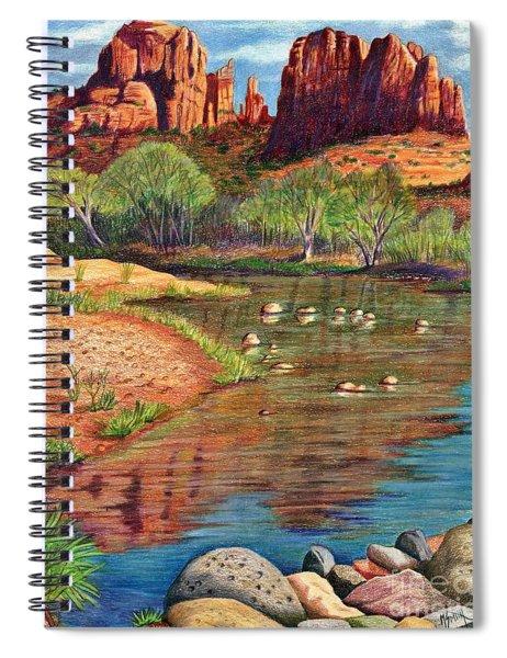 Red Rock Crossing-sedona Spiral Notebook