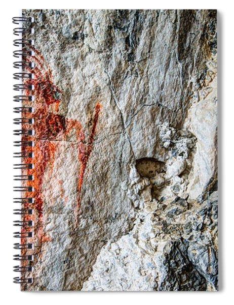Red Warrior Spiral Notebook
