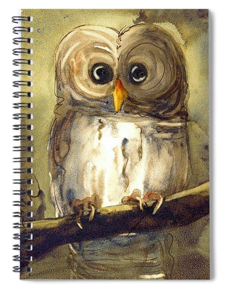 Redbird Cottage Owl Spiral Notebook