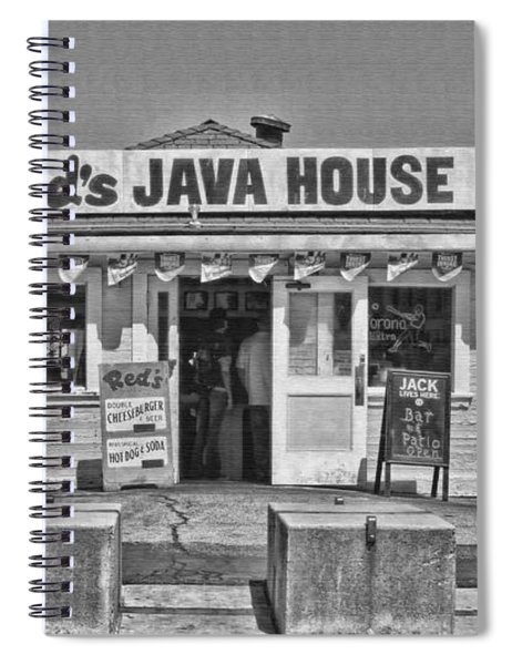 Red's Java House San Francisco By Diana Sainz Spiral Notebook
