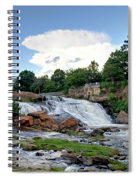 Reedy River Falls Spiral Notebook