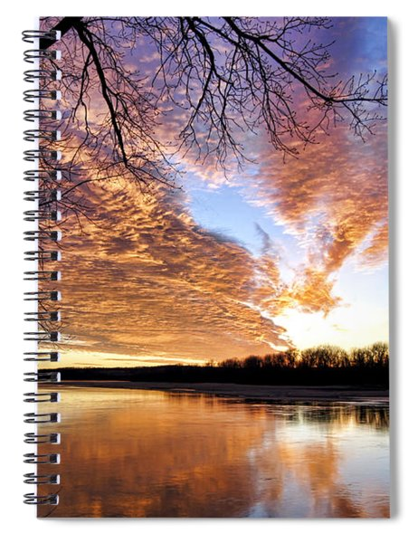 Reflected Glory Spiral Notebook